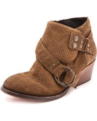 Free People - Tortuga Booties - Taupe - Lyst
