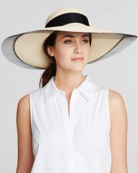 Eugenia Kim Sunny Hat beige - Lyst