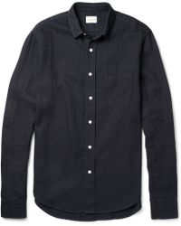 Simon Miller Arcata Overdyed Denim Shirt - Lyst