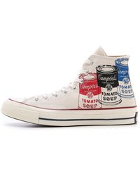 Converse Warhol X Chuck Taylor All Star '70 High Top Sneakers - Lyst