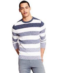 Tommy Hilfiger Faded Stripe Sweater - Lyst