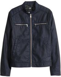 H&M Twill Jacket - Lyst