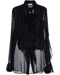 Dries Van Noten Shirt black - Lyst