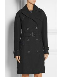 Coach Doublebreasted Woolblend Trench Coat - Lyst