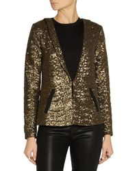 Day Birger Et Mikkelsen Sequined Crepe Blazer - Lyst