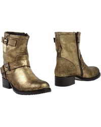 Lola Cruz Ankle Boots - Lyst