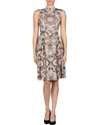 Dior Short Dress - Lyst