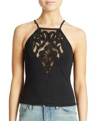 Free People Jersey Vice Crop Tank - Lyst