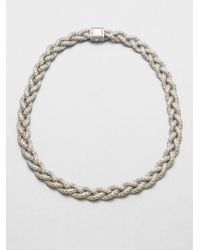 John Hardy - Sterling Silver Braided Chain Necklace - Lyst