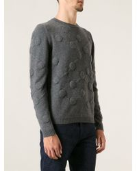 Christopher Kane Embossed Patterned Sweater - Lyst