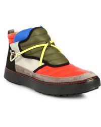 Bally Oskin Colorblock Sneakers - Lyst