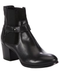 Costume National Leather Ankle Boots - Lyst