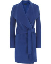 Joseph Lisa Long Cashmere Wrap Coat - Lyst