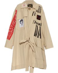 Vivienne Westwood Anglomania - Oversized Builder Trench Coat - Lyst