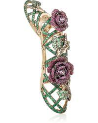 Lydia Courteille - 18-Karat Gold Multi-Stone Ring - Lyst