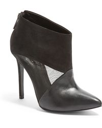 Schutz Pia High Heel Booties - Lyst