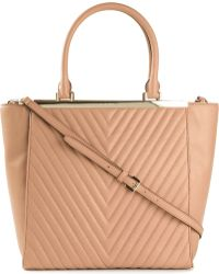 MICHAEL Michael Kors 'Lana' Quilted Tote - Lyst