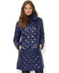 Lauren by Ralph Lauren Cecily Packable Down Walker Jacket - Lyst