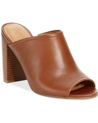 Kenneth Cole Reaction Womens Tart Ache Mules - Lyst