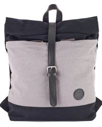 Enter Accessories - Enter Classic Roll Top Backpack - Lyst