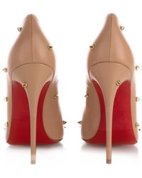 Christian Louboutin - Degraspike Stud-Embellished Court Shoes - Lyst
