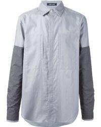 Damir Doma Patchwork Shirt - Lyst