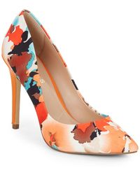 Charles by Charles David Pact Printed Point-Toe Pumps - Lyst