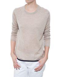 Chinti & Parker Cash Silk Pointelle Sweater - Lyst