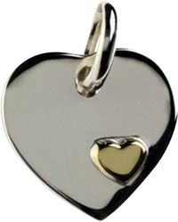 Links of London - 18ct Heart Disc Charm - Lyst