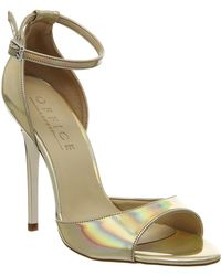 Office Priscilla Single Sole Sandal gold - Lyst