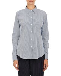Theory Stripepattern Perfect Shirt - Lyst