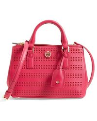 Tory Burch 'Robinson' Double Zip Tote - Lyst