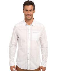 Calvin Klein Jeans Ls Single Chest Pocket - Lyst