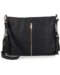 Urban Originals - Tassel-accent Crossbody Bag - Lyst