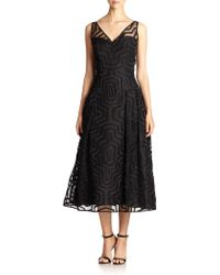 Milly Olivia Aztec Gown - Lyst