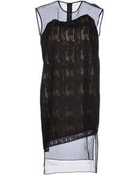 Helmut Lang Short Dress - Lyst