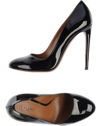 Alaïa Black Pump - Lyst