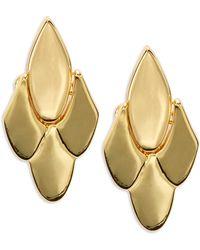 Kate Spade - Fancy Flock Stud Earrings - Lyst