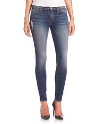 Mcguire - Newton Distressed Skinny Jeans - Lyst