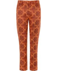 House Of Holland Parquet Trousers - Lyst