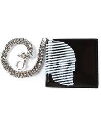 Alexander McQueen Skull Chain Wallet - Lyst