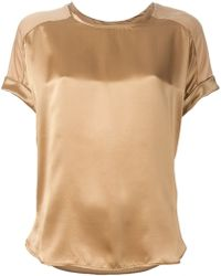 By Malene Birger 'Piponas' T-Shirt Blouse - Lyst