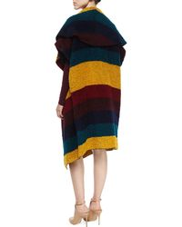 Alice + Olivia - Muriel Striped Oversized Shawl - Lyst