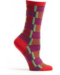 Ozone Socks Sahara Patchwork Socks - Lyst