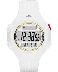 adidas Originals - Questra White And Gold Small Polyurethane Watch - Lyst