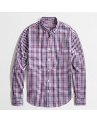 J.Crew  Slim Washed Shirt - Lyst
