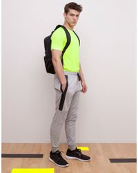 Pull&Bear Cuffed-Hem Jogging Pants - Lyst