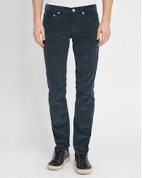 Sandro | Blue-grey Spector Slim-fit Jeans | Lyst