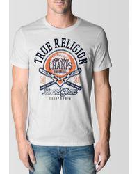 True Religion Hand Picked All Star Baseball Mens Tshirt - Lyst
