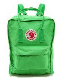 Fjallraven Kanken Backpack  Villa Green - Lyst